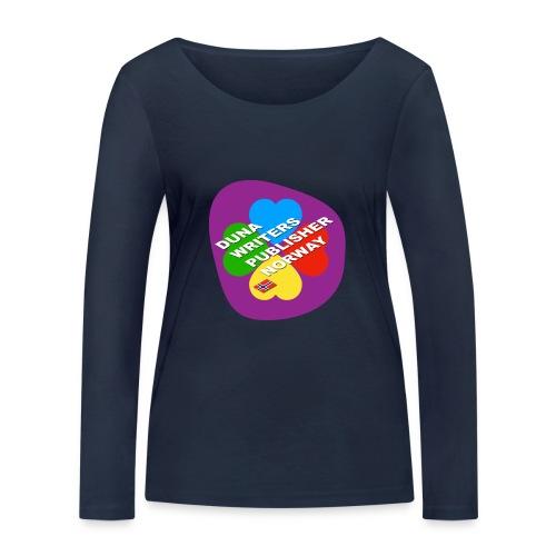Duna Writers - Økologisk langermet T-skjorte for kvinner fra Stanley & Stella