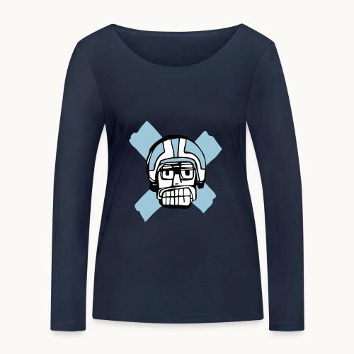 Motard Junior - Blue - T-shirt manches longues bio Stanley & Stella Femme
