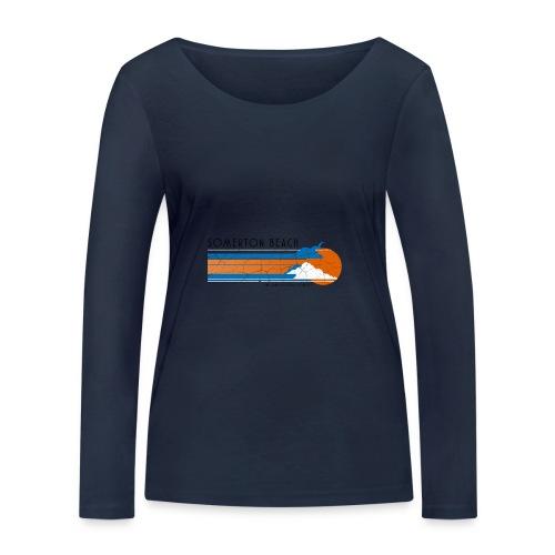 Somerton Beach: Tamam Shud Mystery - Women's Organic Longsleeve Shirt by Stanley & Stella