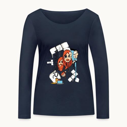 Chroma - T-shirt manches longues bio Stanley & Stella Femme