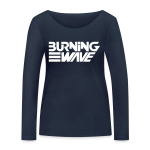 Burning Wave Block - T-shirt manches longues bio Stanley & Stella Femme