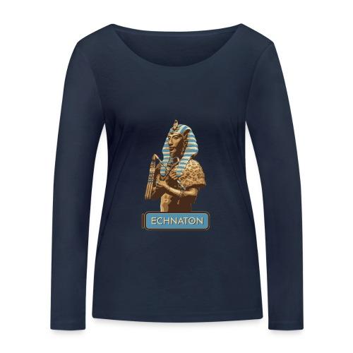 Echnaton – Sonnenkönig von Ägypten - Frauen Bio-Langarmshirt von Stanley & Stella