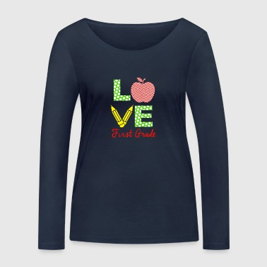 amour première année - T-shirt manches longues bio Stanley & Stella Femme