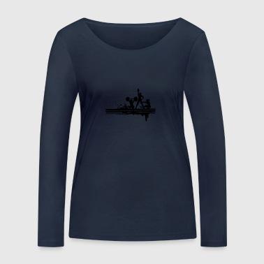 FITNESS - Ekologiczna koszulka damska z długim rękawem Stanley & Stella