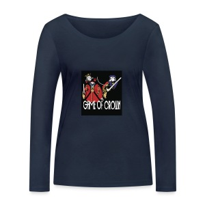 Game of Crown. - T-shirt manches longues bio Stanley & Stella Femme