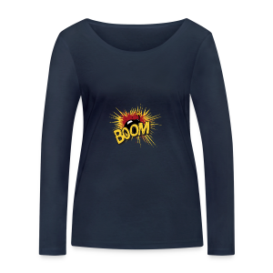 BOOM ! - T-shirt manches longues bio Stanley & Stella Femme