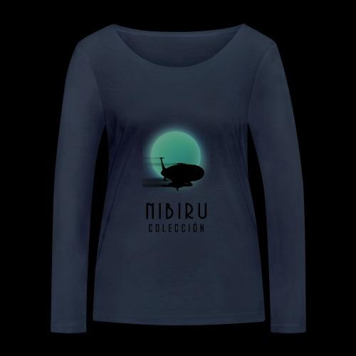 NibiruLogo - Camiseta de manga larga ecológica mujer de Stanley & Stella