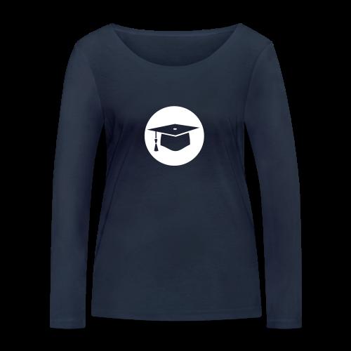 Doktorhut Kreis Geschenkidee Promotion Examen - Frauen Bio-Langarmshirt von Stanley & Stella
