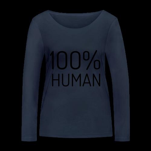 100% Human - Vrouwen bio shirt met lange mouwen van Stanley & Stella