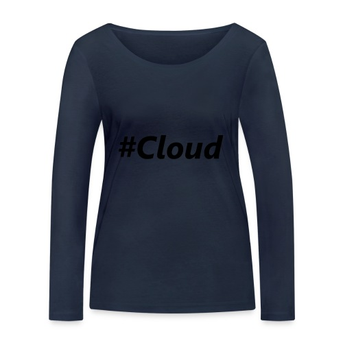 #Cloud black - Frauen Bio-Langarmshirt von Stanley & Stella