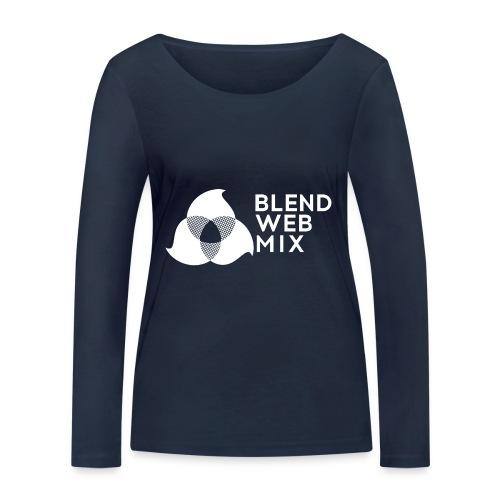 logo bland - T-shirt manches longues bio Stanley & Stella Femme