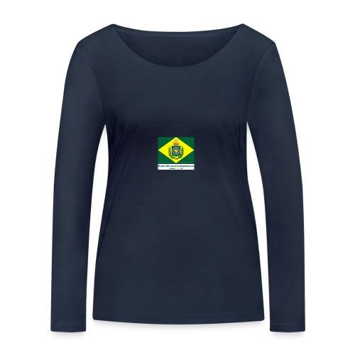 Brazil 200 years independence - Økologisk langermet T-skjorte for kvinner fra Stanley & Stella