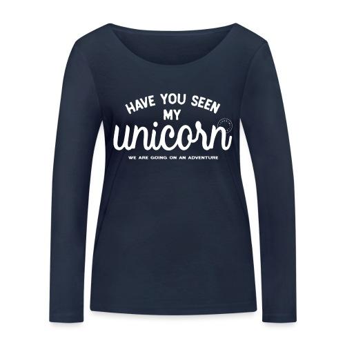 Unicorn dam - Women's Organic Longsleeve Shirt by Stanley & Stella