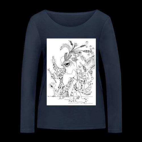 subconscientes colectivos I - Camiseta de manga larga ecológica mujer de Stanley & Stella