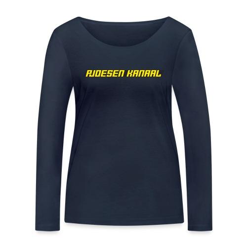 Pjoesen Kanaal - Vrouwen bio shirt met lange mouwen van Stanley & Stella