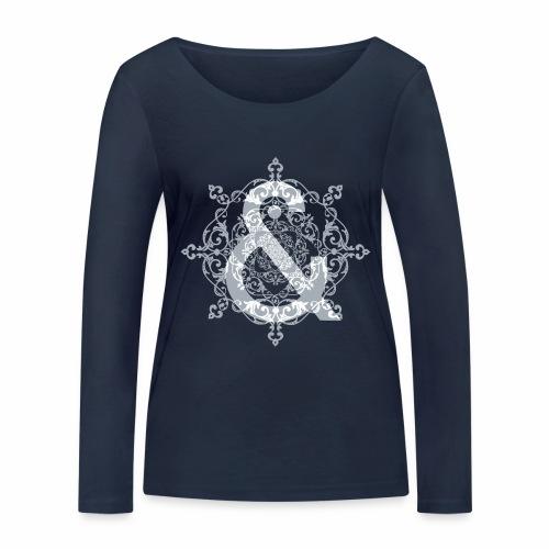 Escudo dark grey & ... - Camiseta de manga larga ecológica mujer de Stanley & Stella