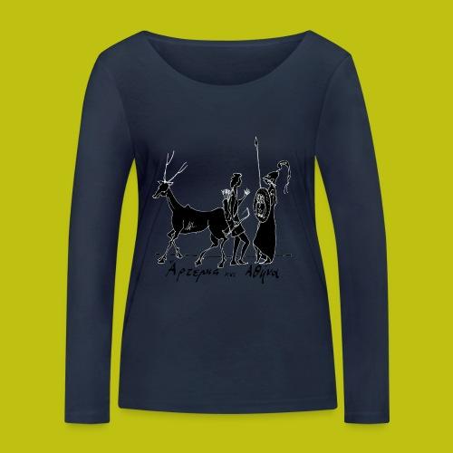 Artemisa y Atenea - Camiseta de manga larga ecológica mujer de Stanley & Stella