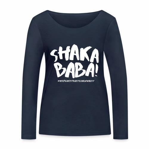 shaka - Stanley & Stellan naisten pitkähihainen luomupaita