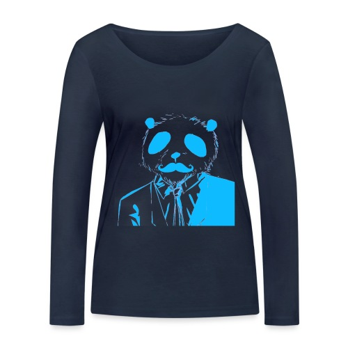 BluePanda Logo - Women's Organic Longsleeve Shirt by Stanley & Stella