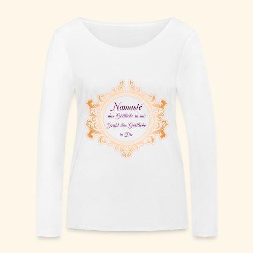 Namasté - Frauen Bio-Langarmshirt von Stanley & Stella