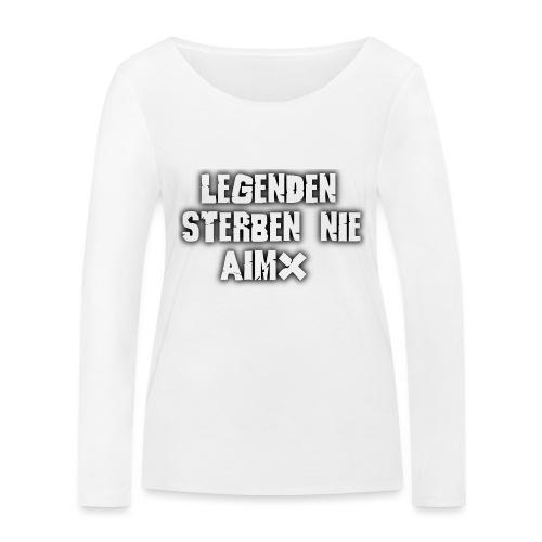 Legenden sterben nie - Frauen Bio-Langarmshirt von Stanley & Stella