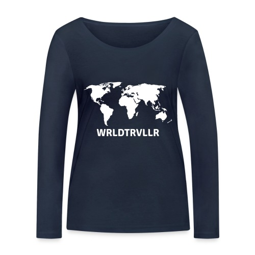 Worldtraveller - Frauen Bio-Langarmshirt von Stanley & Stella
