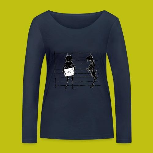 satiro - Camiseta de manga larga ecológica mujer de Stanley & Stella
