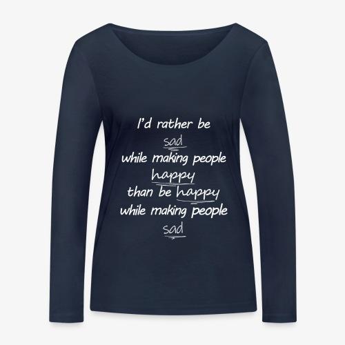 Forgotten Logic - Ekologisk långärmad T-shirt dam från Stanley & Stella