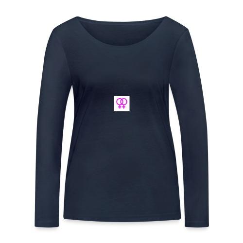 lesbian logo - T-shirt manches longues bio Stanley & Stella Femme