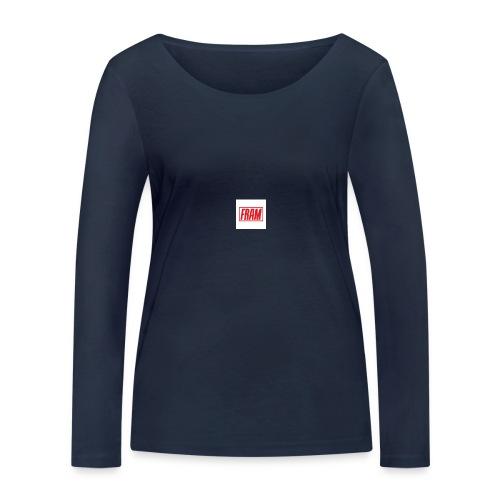 LogoSample ByTailorBrands - Vrouwen bio shirt met lange mouwen van Stanley & Stella