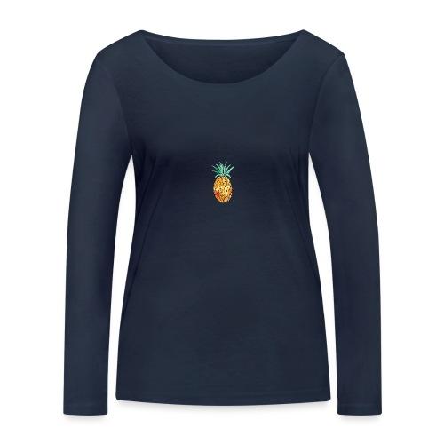 pinety logo print - Økologisk Stanley & Stella langærmet T-shirt til damer