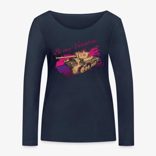 Be my Valentine Tank - Frauen Bio-Langarmshirt von Stanley & Stella