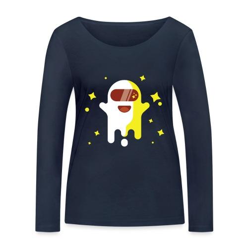 Fantôme astronaute - T-shirt manches longues bio Stanley & Stella Femme