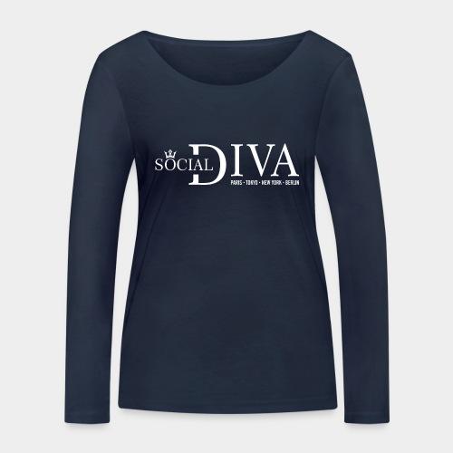 mode diva sociale - T-shirt manches longues bio Stanley & Stella Femme