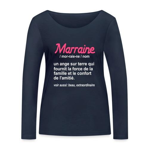 Marraine Définition - T-shirt manches longues bio Stanley & Stella Femme