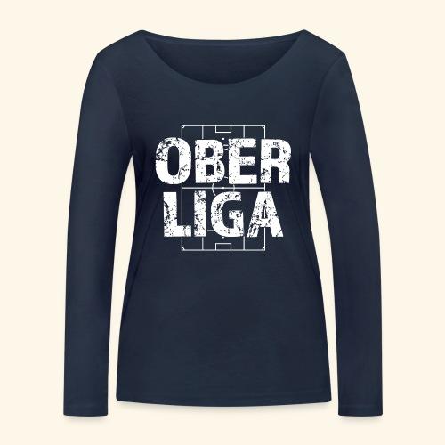 OBERLIGA im Fußballfeld - Frauen Bio-Langarmshirt von Stanley & Stella