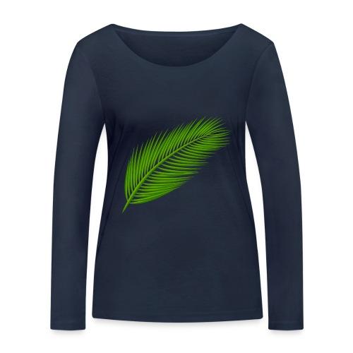 Leaf - bio - Vrouwen bio shirt met lange mouwen van Stanley & Stella
