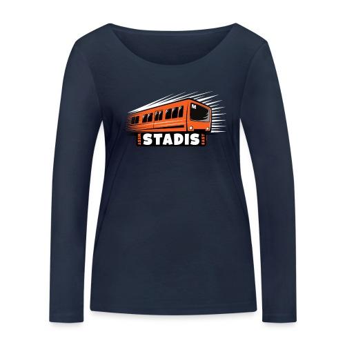 STADISsa METRO T-Shirts, Hoodies, Clothes, Gifts - Stanley & Stellan naisten pitkähihainen luomupaita