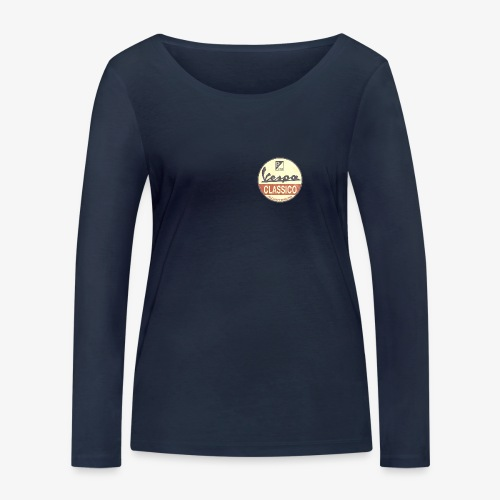 Vintage Logo - Frauen Bio-Langarmshirt von Stanley & Stella