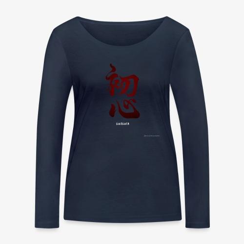 SHOSHIN - T-shirt manches longues bio Stanley & Stella Femme