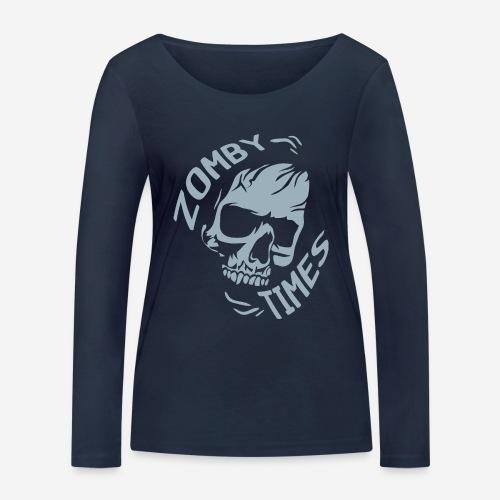 zomby zeiten ära zombie - Frauen Bio-Langarmshirt von Stanley & Stella