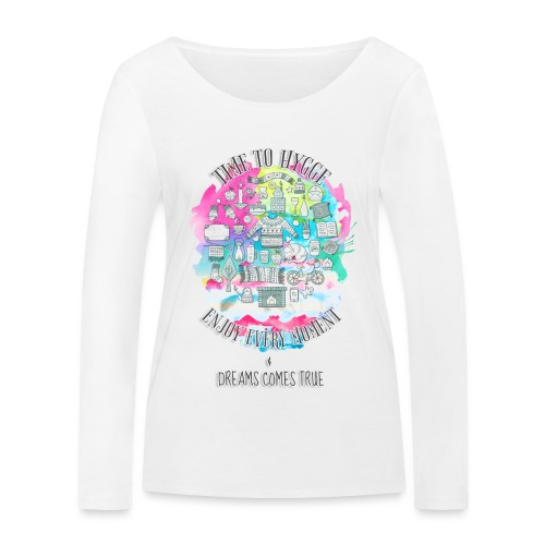 Time to Hygge - T-shirt manches longues bio Stanley & Stella Femme