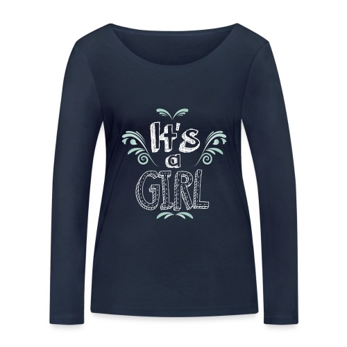 Tshirt Femme Enceinte T shirt femme - T-shirt manches longues bio Stanley & Stella Femme