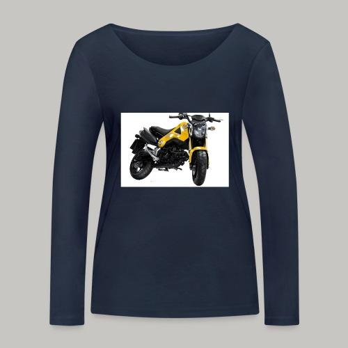 Grom Motorcycle (Monkey Bike) - Women's Organic Longsleeve Shirt by Stanley & Stella