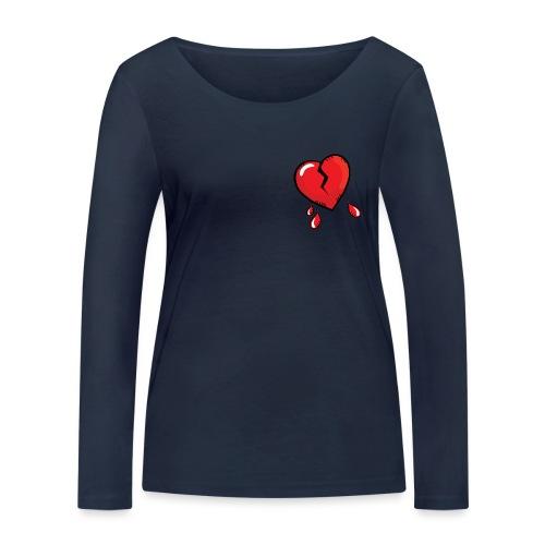 Broken Heart - Women's Organic Longsleeve Shirt by Stanley & Stella