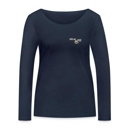 Logo vectoriel large - T-shirt manches longues bio Stanley & Stella Femme