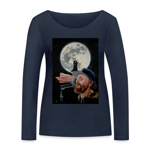 Chiaro di Luna - Maglietta a manica lunga ecologica da donna di Stanley & Stella