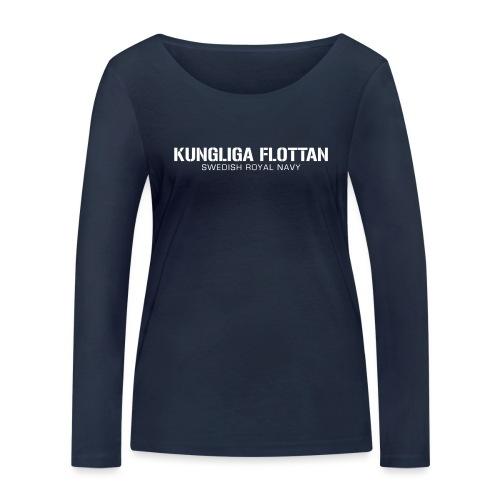 Kungliga Flottan - Swedish Royal Navy - Ekologisk långärmad T-shirt dam från Stanley & Stella