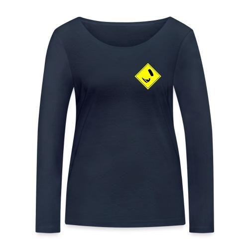 Kiteboarder - Ekologiczna koszulka damska z długim rękawem Stanley & Stella