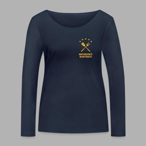 EU Bratenschutz-Beauftragte - Frauen Bio-Langarmshirt von Stanley & Stella